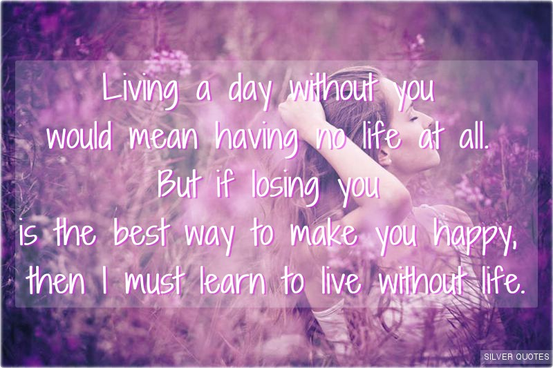 Life Without You Quotes. QuotesGram