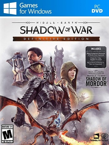 middle earth shadow of war definitive edition pc