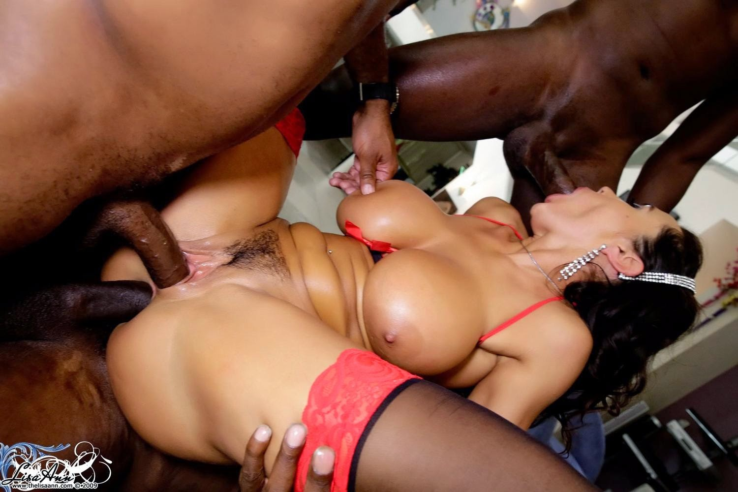 2 nice young black bitches for one white cock 9