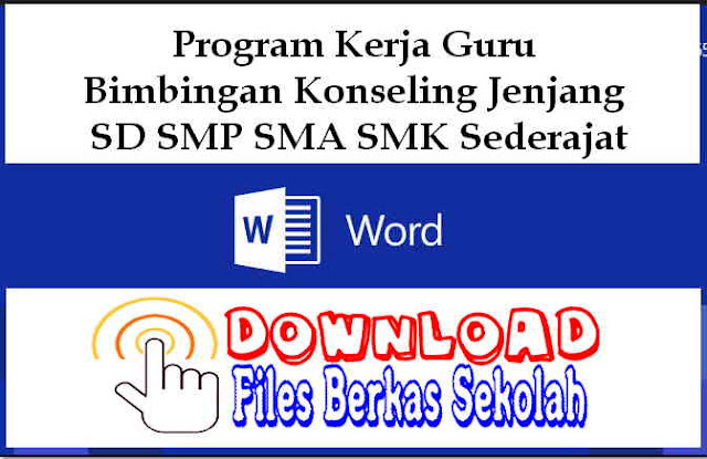 Download Program Kerja Guru Bimbingan Konseling