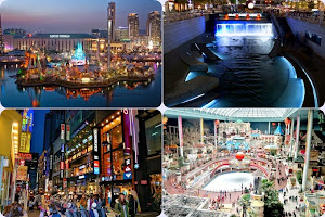 Lotte World Theme Park, Cheonggyecheon Stream, Myeongdong Market