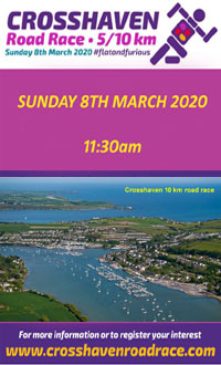 Flat & Fast Scenic 5k & 10k in Crosshaven, Cork - Sun 8th Mar 2020