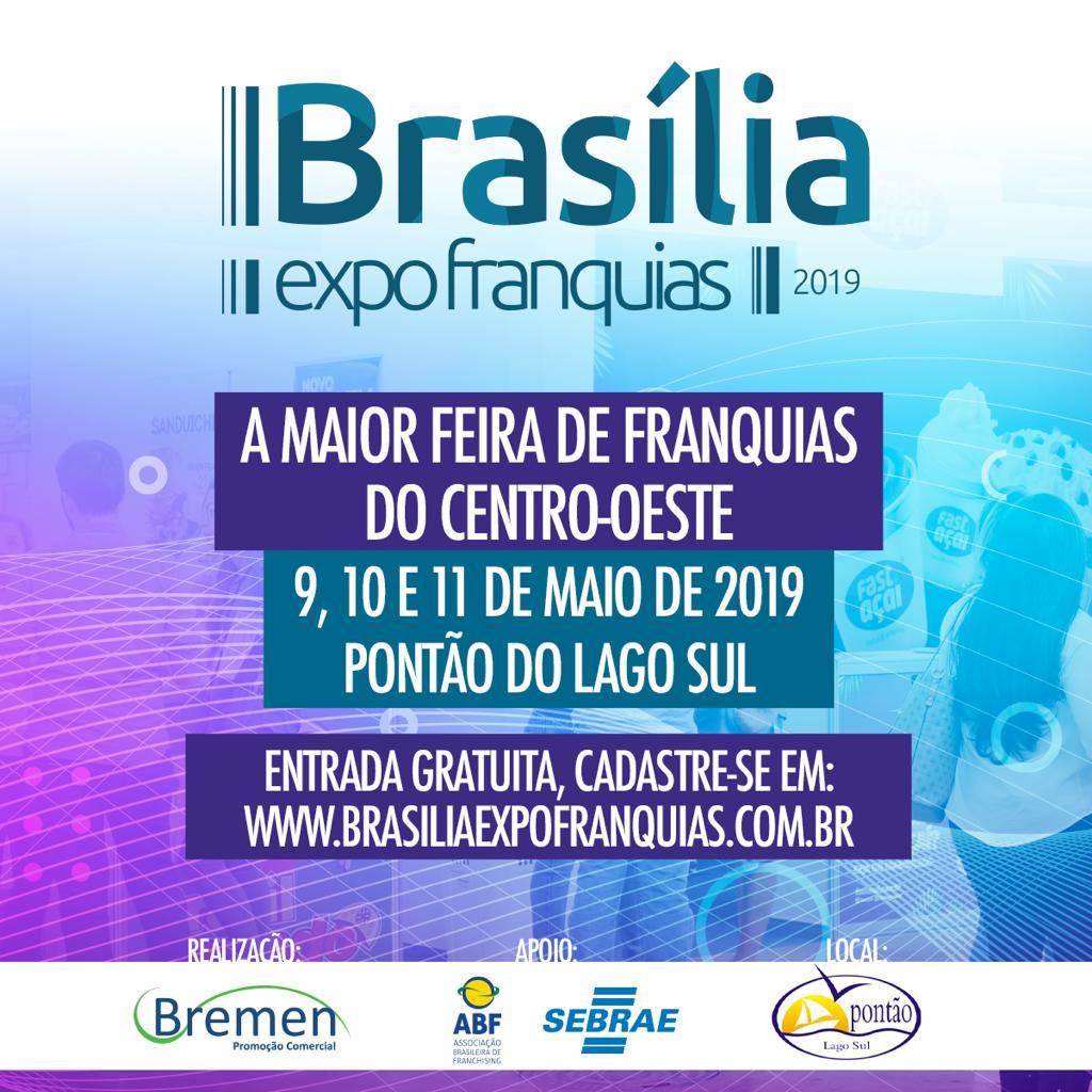 Brasília recebe a 6ª edição da Feira de Franquias