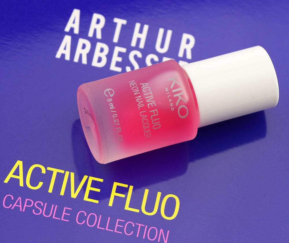 Capsule collection Mayo Active Fluo KIKO MILANO nail lacquer laca de uñas 2