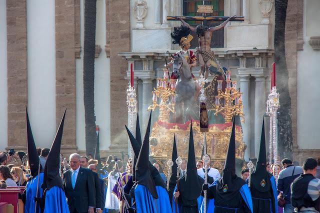Semana Santa em Cádiz, na Andaluzia, província da Espanha