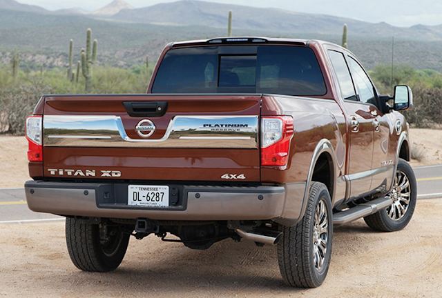 2016 Nissan Titan XD  Pro4x
