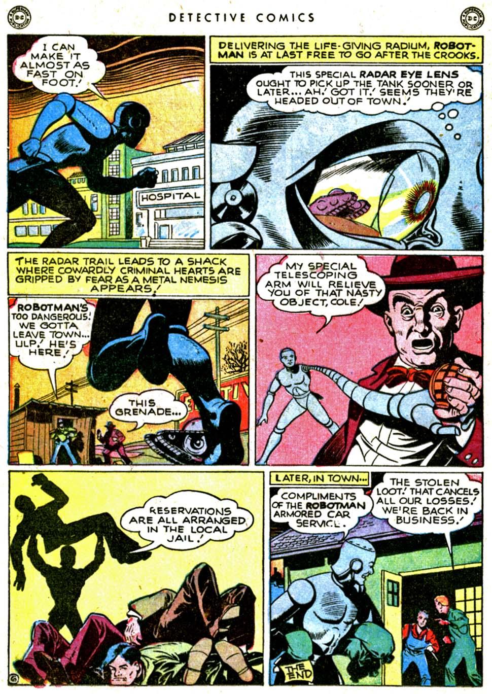 Read online Detective Comics (1937) comic -  Issue #144 - 22