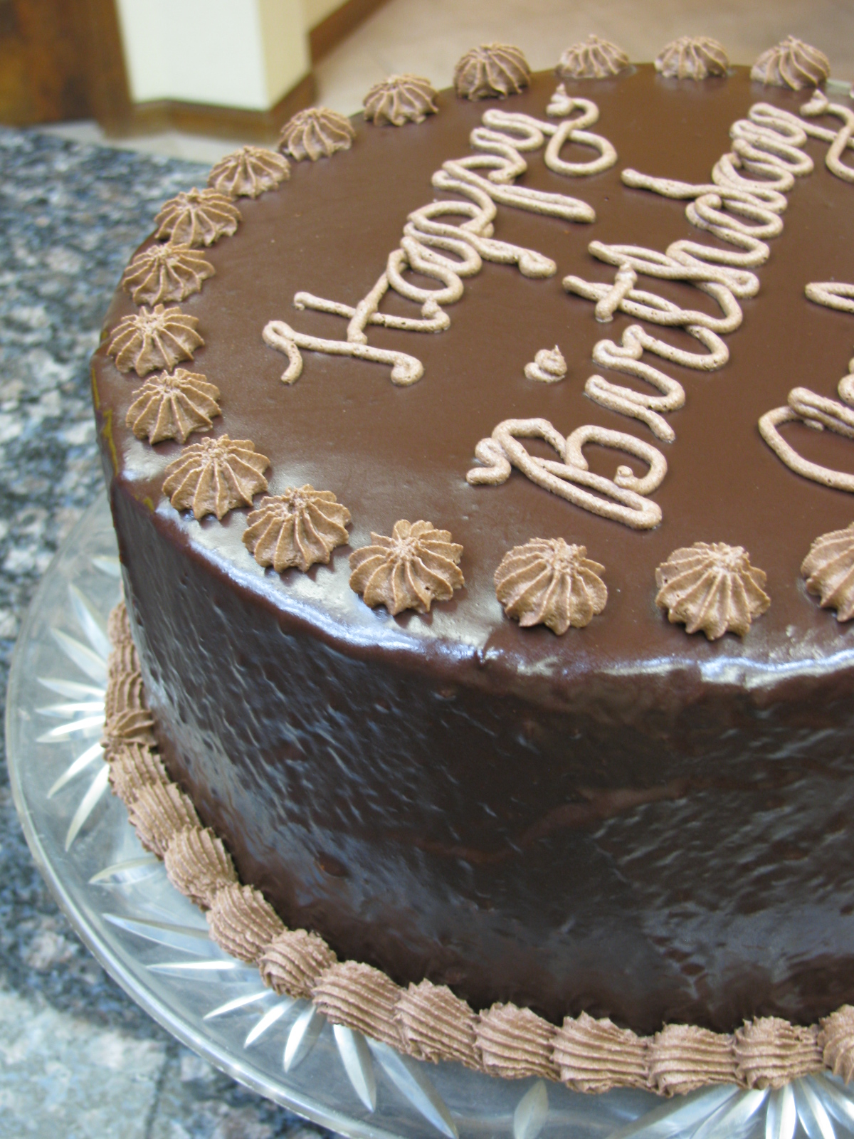 Chocolate Cake Frosting Buttercream