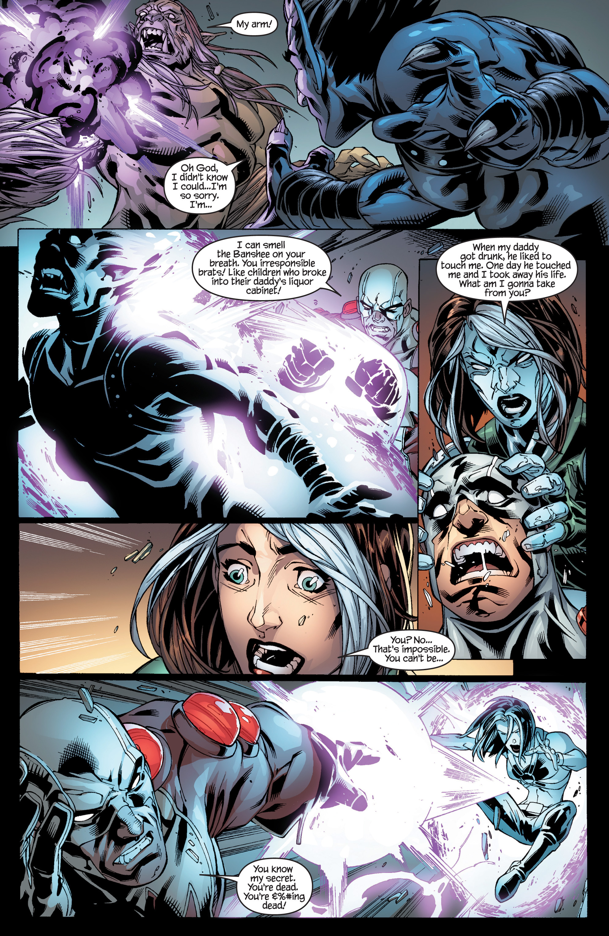 Read online Ultimate X-Men comic -  Issue #95 - 16