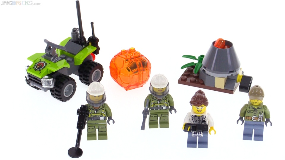 In//Out Volcano Starter Set LEGO City 60120