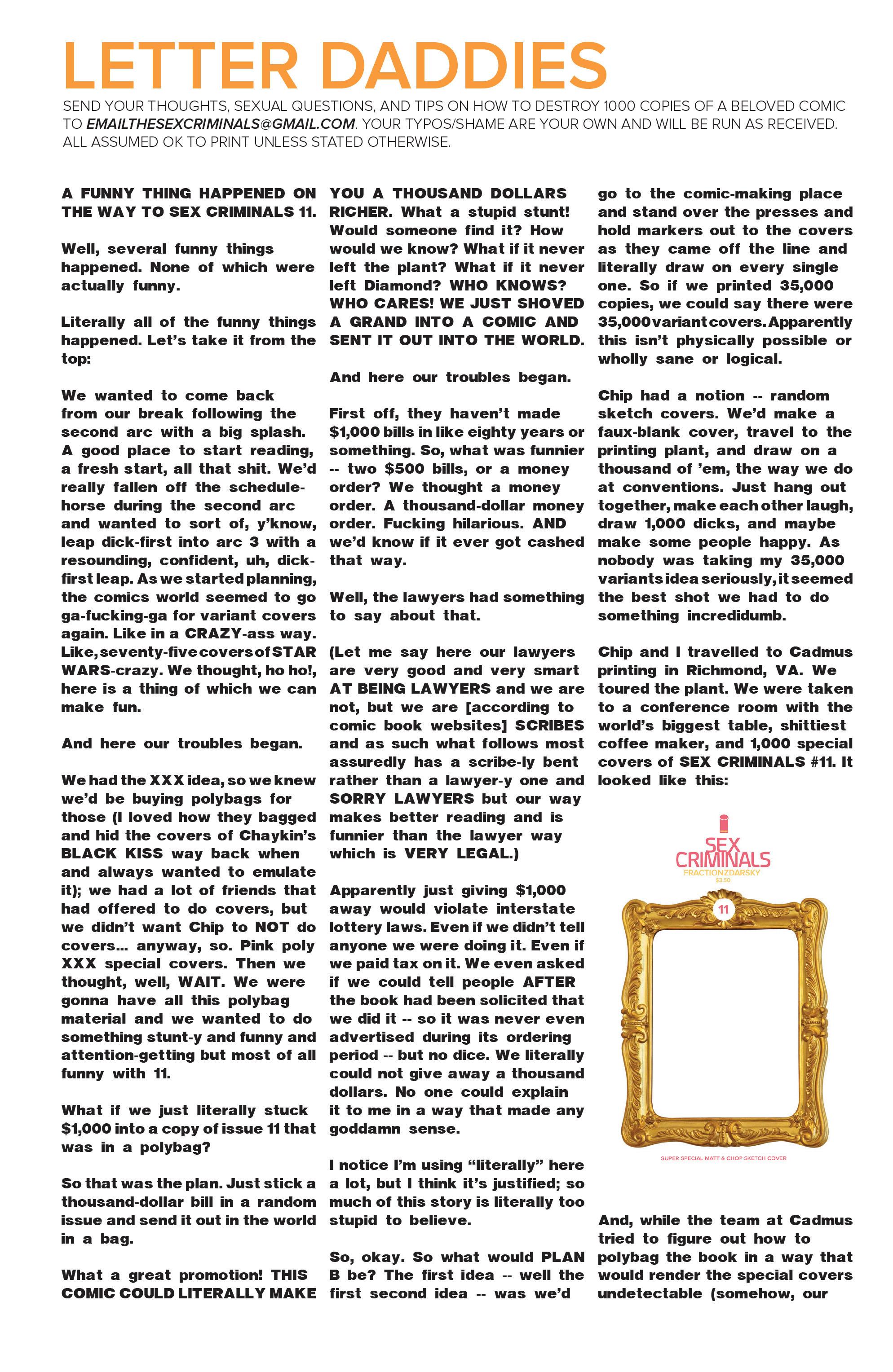 Read online Sex Criminals comic -  Issue #12 - 23