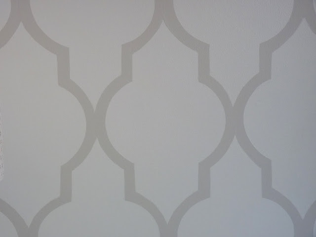 Top Diy Tutorials Hand Painted Moroccan Lattice Wall Stencil