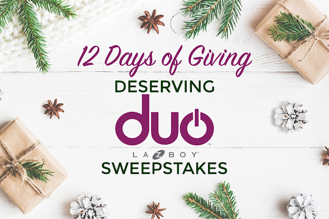 La-Z-Boy 12 Days of Giving 2017 Sweepstakes