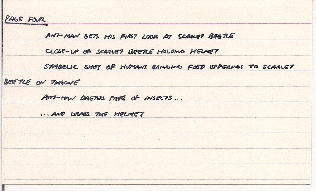 Tony Isabella's Bloggy Thing: ANT-MAN'S AMAZING FANTASY part five