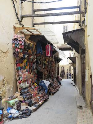 Vendedores de babuchas