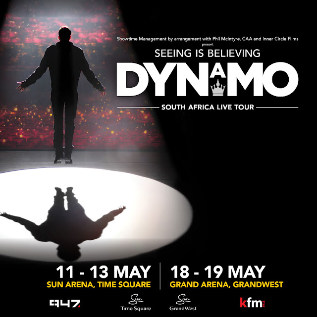 Seeing Is Believing @DyanmoMagician On Stage in #SouthAfrica @Showtime_SA #DynamoSA