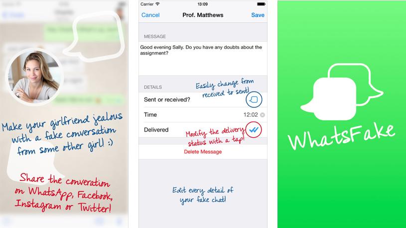 Cómo crear mensajes falsos en WhatsApp