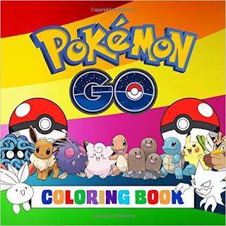 Pokemon Go Coloring Book PDF