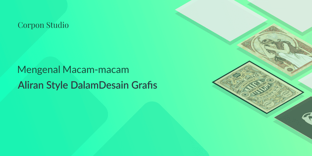 Berbagai Macam Aliran Gaya Style Desain Grafis/Graphic Design Style