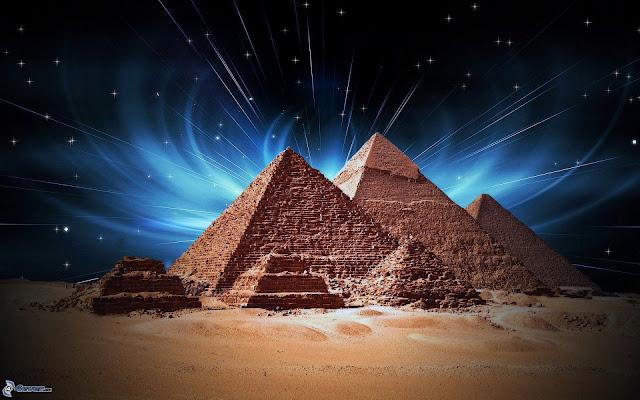 La piramide de Keops tiene un diseño que representa a la Tierra