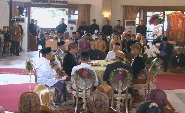 Saat Khutbah Nikah Puteri Jokowi, KH Said Aqil Siradj Paparkan Islam Nusantara