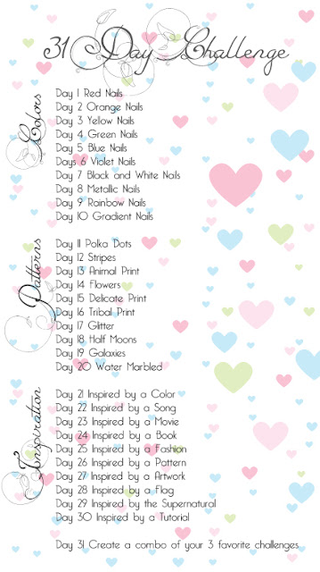 31 Day Nails Challenge- Black & White Nails image