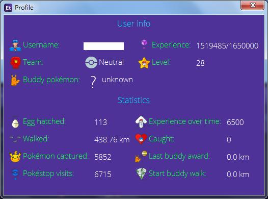 Image%2B013 - Pokemon Go 外掛 - Eternal Bot 支援最新0.47 API,繁體中文介面,速度超快、背包管理方便、設定簡單