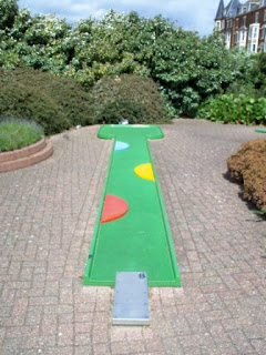 Crazy Golf at the Victorian Pavilion, North Promenade in Hunstanton