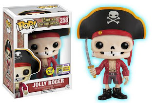 Pop! Disney: Disneyland Resort – Jolly Roger (Glow-in-the-Dark 1000 LE).
