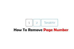 Cara Menghilangkan Nomor Halaman Atau Page Number Navigation Pada Template Blog