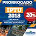 PREFEITURA PRORROGA PAGAMENTO DO IPTU PARA 30/05 EM EUNÁPOLIS