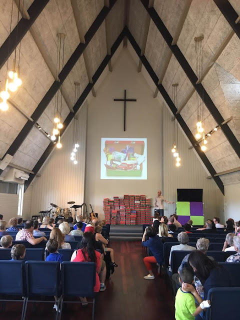 Operation Christmas Child Shoebox Sunday Oatley Anglican Church