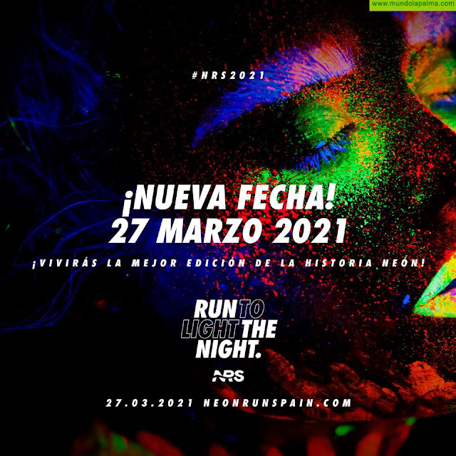 Neon Run Spain se aplaza hasta marzo de 2021