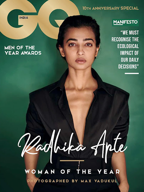 Radhika Apte sizzles on the cover of GQ's October issue