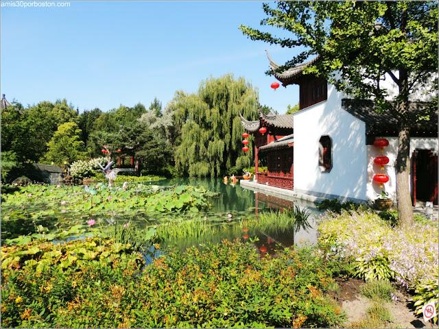 Jardín Chino del Jardín Botánico de Montreal