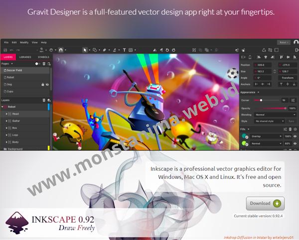 Sofware Disain Grafis Yang Cukup Powerfull Untuk Bisa Menggantikan Corel Draw