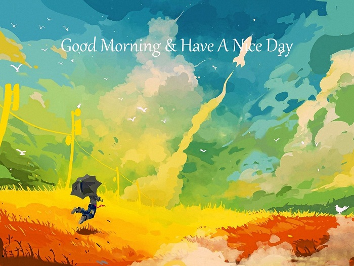 Colorful-good-moening-wishes-painting