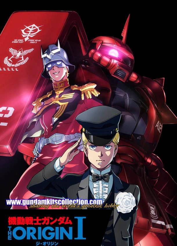Mobile Suit Gundam: The Origin I Blue-Eyed Casval - News, Screenshots and Trailers - Gundam Kits ...