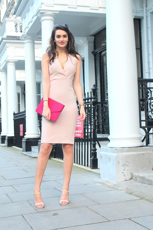 blush midi occasionwear spring