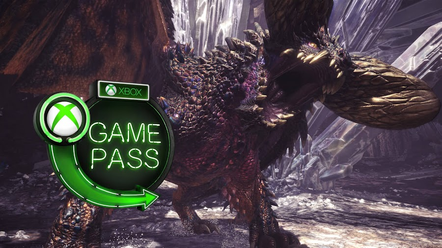xbox game pass 2019 monster hunter world xb1