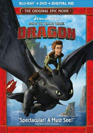 How To Train Your Dragon 2010 BRRip 750MB Hindi Dual Audio 720p