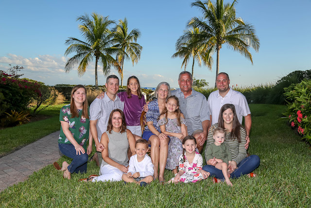 sanibel island family portrait