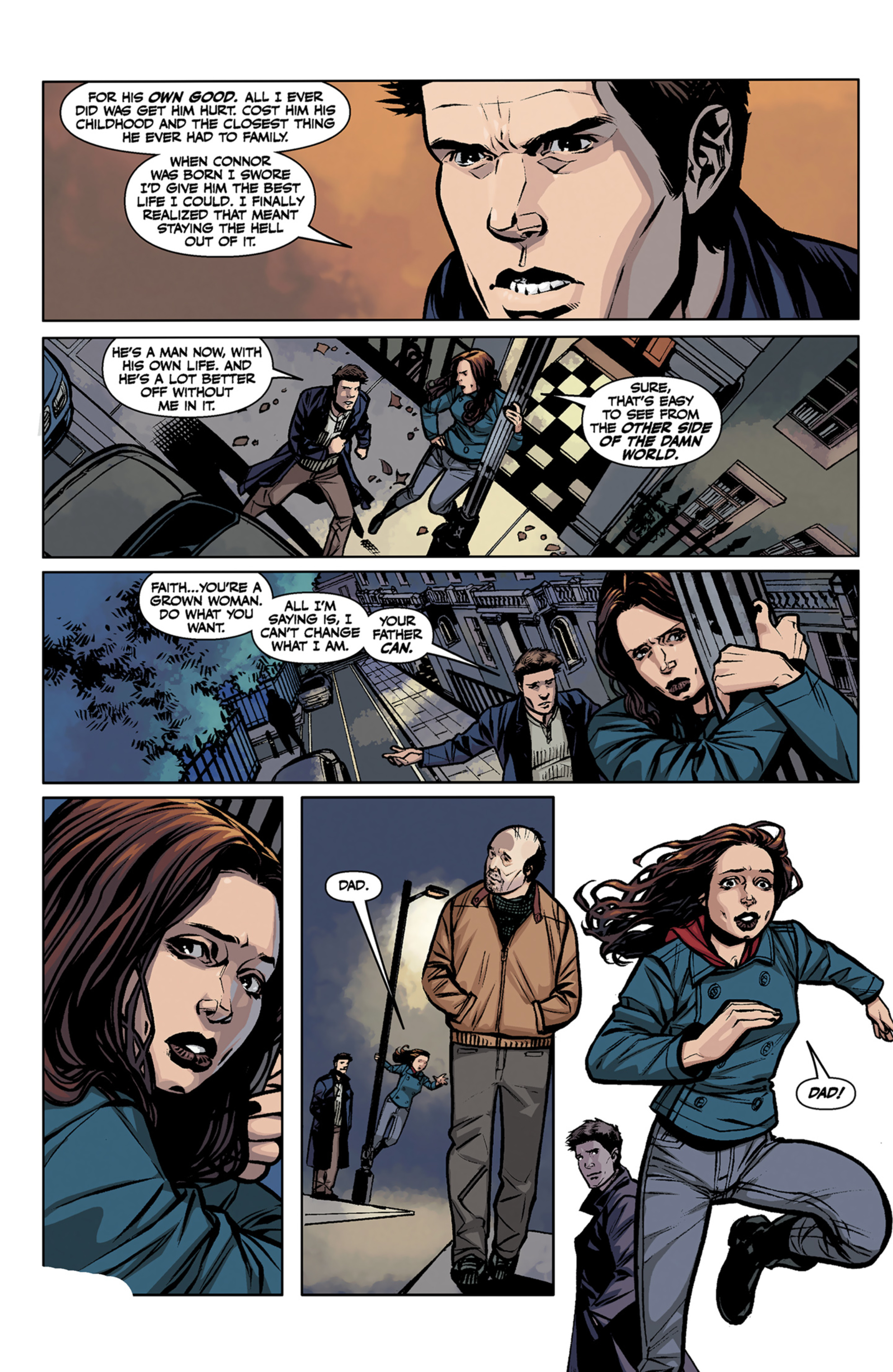 Read online Angel and Faith comic -  Issue #7 - 14