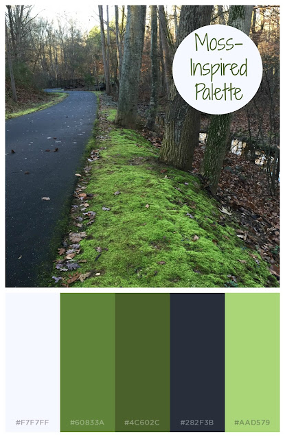 Moss Green Color Inspiration