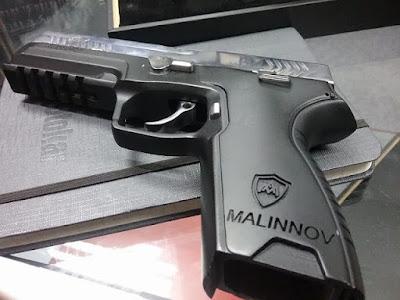 Malinnov Pistol Buatan Malaysia