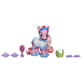 MLP Fashion Style Pinkie Pie Brushable Figure