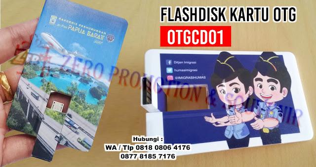 Flashdisk Kartu OTG, USB KARTU OTG - OTGCD01, USB Flashdrive OTG, hybrid OTG dengan harga termurah