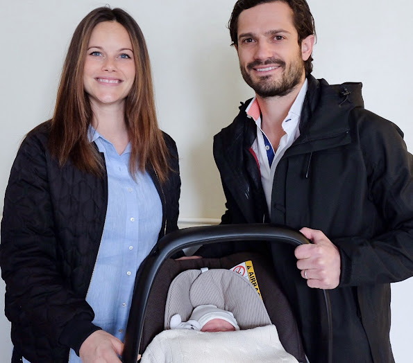 Swedish Princess Sofia Hellqvist's son named Prince Alexander