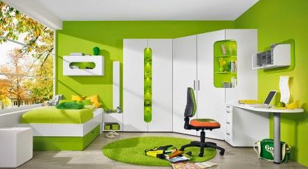 cuarto de joven moderno
