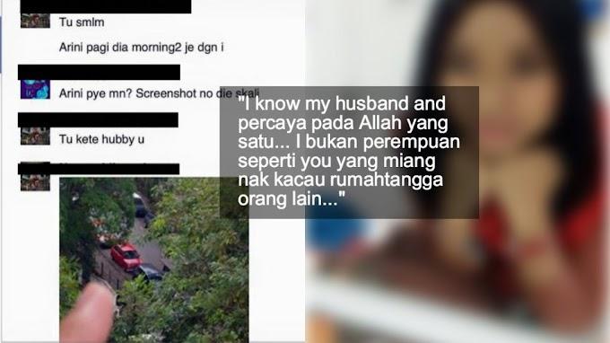Disapa Kekasih Suami Di FB, Wanita Ini Tersentak Apabila Gambar Yang Diberikan Cukup Meremukkan Hati!